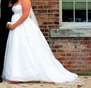 Wedding dress by White Vera Wang Collection