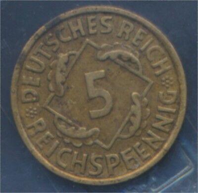 Deutsches Reich Jägernr: 316 1935 J vorzüglich 1935 5 Reichspfennig (7879600