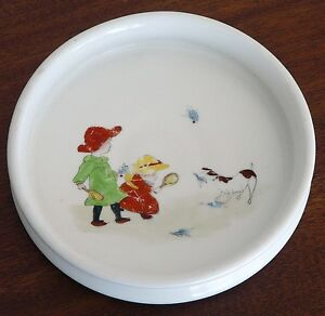 Vintage Antique Baby Plate