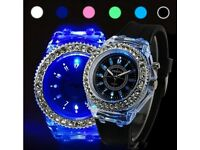 COLOUR CHANGING SILICONE WATCH (Brand New)