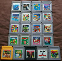 Nintendo GameBoy Games & Accessories