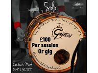 Solo Professional live band and performance photography £100 per gig or event.