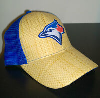 toronto blue jay straw baseball hat