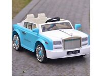Boxed Brand New Royal Royce Style CO40 Electric Car