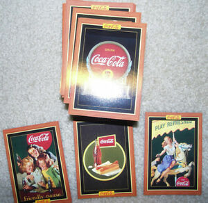 Coca Cola Cards - 1995 Kitchener / Waterloo Kitchener Area image 1