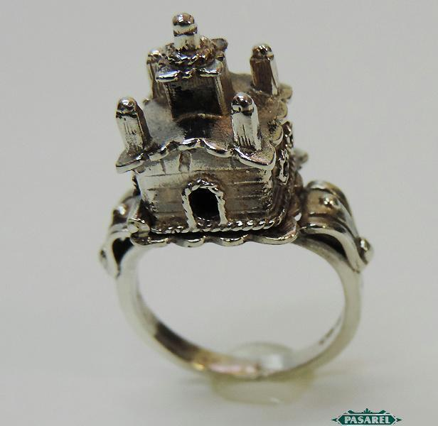 Sterling Silver Jewish Traditional Wedding Marriage Ring Judaica