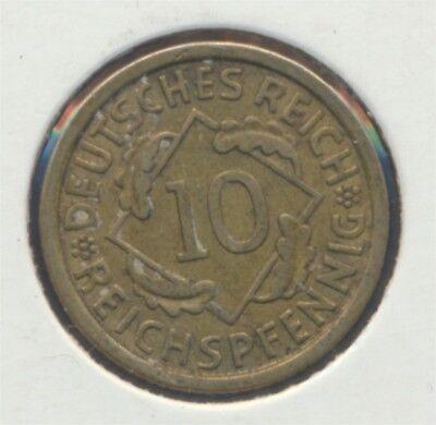Deutsches Reich Jägernr: 317 1930 E vorzüglich 1930 10 Reichspfennig (7869099