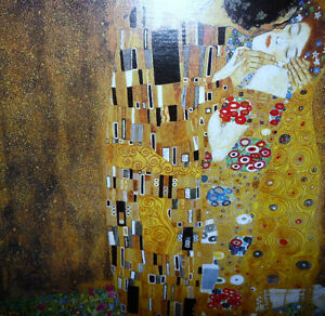 "Gustav Klimt ""The Kiss"" Art Print Stratford Kitchener Area image 7"