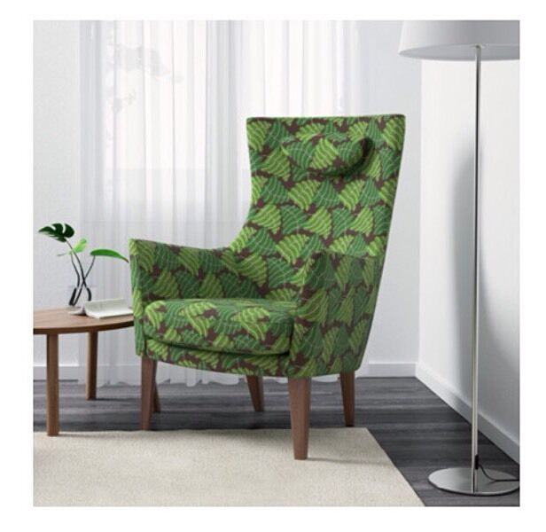 Ikea Stockholm Green Armchair In Dungannon County Tyrone Gumtree