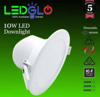 Quality Dimmable LED DOWNLIGHTS from $10 each!! 5Yr Warranty