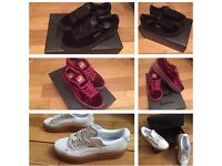 Puma Creepers Rihanna Trainers Sneakers Shoes Footwear Girls Females Women Size 4 to 6 NEW