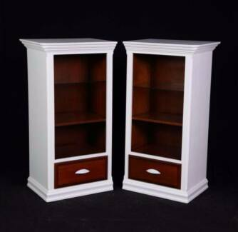 Lovely pair of Hampton style cabinets,DELIVERY AVAILABLE.
