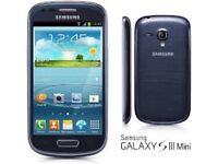 Samsung Galaxy s3 mini unlocked brand new boxed black cheap phone
