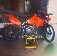 05 ktm 525 for sale or trade for small standard car