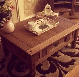 Furniture set - coffee table, TV unit and nest of tables