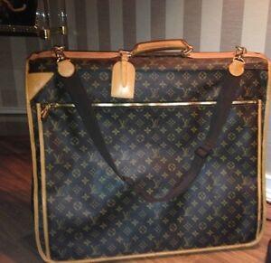 Authentic Louis Vuitton Garment Travel Bag Unisex + 2 lock & key Hampton Bayside Area Preview