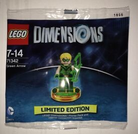 Lego 71342 Superheroes Green Arrow Dimensions New