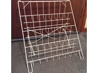 Display stand for greetings cards, CDs etc. Craft Fayres
