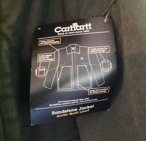 Carhartt - Insulated Work Jacket - New with Tags - Medium Kingston Kingston Area image 5