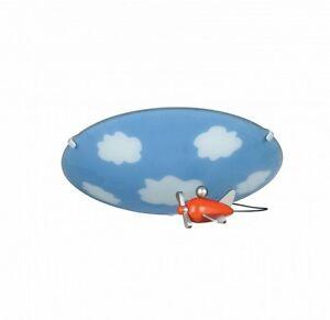 plafonnier lampe chambre d 39 enfant applique murale luminaire ciel pilote 52006 ebay. Black Bedroom Furniture Sets. Home Design Ideas