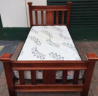 Excellent solid wooden king single frame+Pillow Top mattres(Firm)