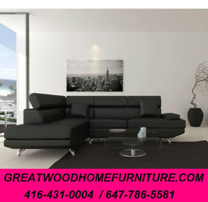 BRAND NEW MODERN STYLE SECTIONAL...$799