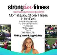 Mom & Baby Stroller Fitness Classes in Central London, ON!