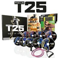 FOCUS T25, INSANITY, MAX 30 authentic, brand new and sealed