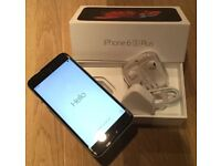 IPHONE 6S PLUS, SPACE GREY WITH RECEIPT, BOXED