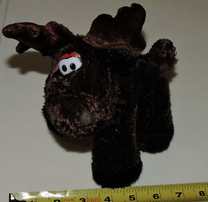 Light Brown Moose Soft Plush Stuffed Toy London Ontario image 1