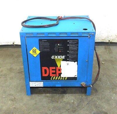 Exide Battery Charger D3e-12-680 24 Volt 109 Amp Max 680 Amp Hours