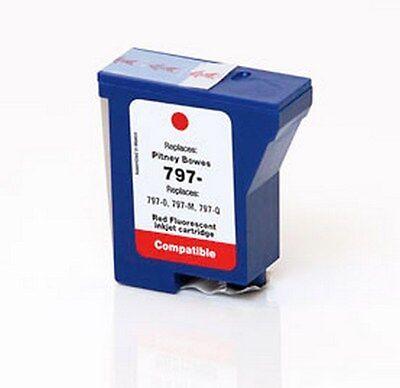 - RED Ink Cartridge for PITNEY BOWES 797-0, DM125i, Mailstation 2 / K700 / K7M0