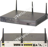 Cisco C881SRSTW-GN-A-K9 881 SRST Ethernet Security Router with F