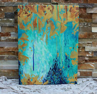 Original Abstract Painting with Texture