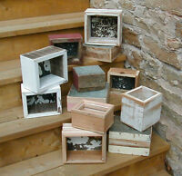 boxes - custom boxes made from salvage material