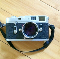 Leica M4 with 50mm f/2  Summicron-M Type II