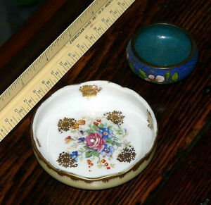 Birks small handpainted French mint dish or salt cellar Kingston Kingston Area image 2