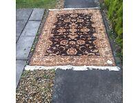 Ziegler blue ground rug perfect condition