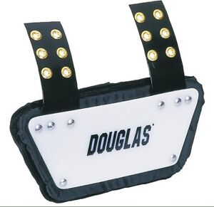 Douglas backplate football