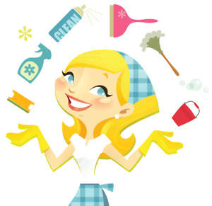 cleaning lady image