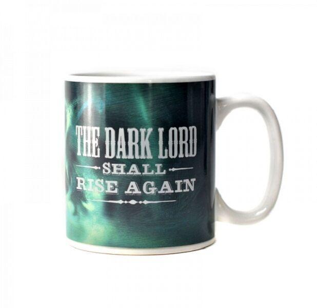 Boxed Ceramic Mug - Harry Potter Heat changing Cup (Dark mark) 400ml. Tea/Coffee