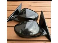 Bmw E90-E91 M Sport Door Mirrors Power Folding Facelift Black Genuine Complete With Controls Bolton