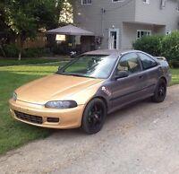 Trade my 1995 Honda civic