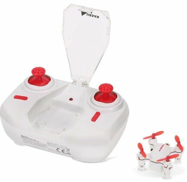 Hubsan Nano Drone Q4 H001 Bianco e Rosso