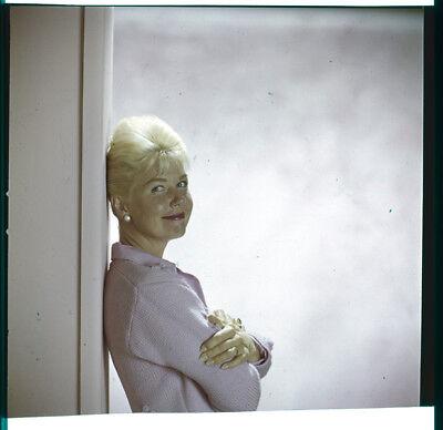 DORIS DAY Iconic Studio Portrait Vintage original 2.25 x 2.25 Photo Transparency