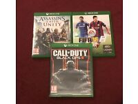 3 Xbox One Games £20