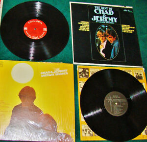 LPs 2 1966 CHAD AND JEREMY-DISTANT SHORES+BEST OF Ottawa Ottawa / Gatineau Area image 1