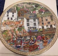 "Royal Worcester Collectible Plate, ""Polperro"""