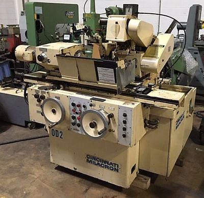 Cincinnati Milacron R-55 10 X 16 Universal Idod Cylindrical Grinder New 1973