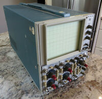 Tektronix 5403 Four-Channel Oscilloscope for Repair or Parts